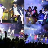 Korede Bello Shows Off The 'Chris Brown' Inside Of Him During Performance In Togo