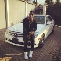 Starboy! L.A.X Acquires New Car, Wizkid Congratulates Him