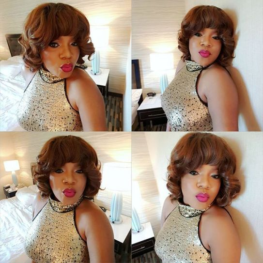 See Why You Cannot Recognize Toyin Aimakhu in new Bedroom Selfies (Photos)