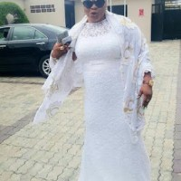 Nollywood actresses Turn Up in White as Faithia Balogun Bags Chieftancy Title