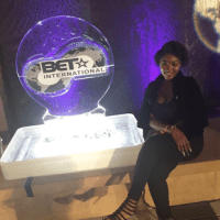 Omotola's Gorgeous Daughter, Meraiah Ekeinde Stuns At BET International Awards (Photos)