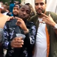 Davido Chills With DJ Khaled, French Montana, Kent Jones & Drake's Dad (Photos/Video)