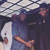 Bola Tinubu Hosts E-Money & Kcee at his Ikoyi House (Photos)