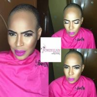 Actress Fathia Balogun Who Recently Went 'Bald' Looks Stunning In New Make-Up Photo