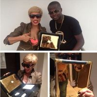 Tonto Dikeh's Ex Malivelihood Shades Her Lexus Gift From Hubby; Says His GF's Watch Can Buy It Twice (Photos)
