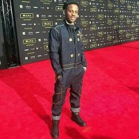 Korede Bello Chastised Heavily For Rocking 'Mechanic & Plumber' Uniform To MAMA 2016 (Photos)