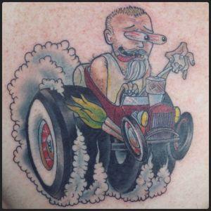 Rat Rod | Aubrey | 39th Street Tattoo Kansas City
