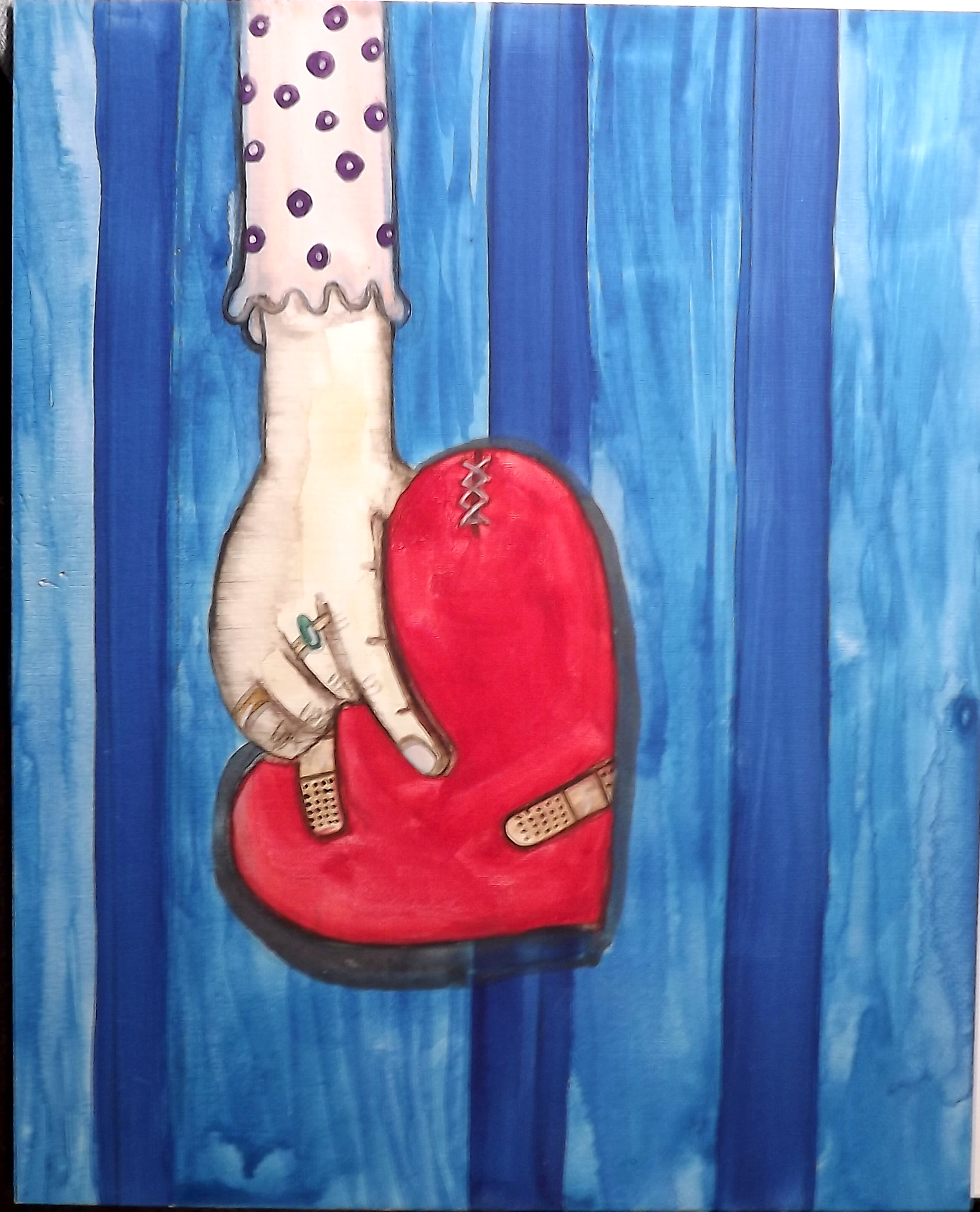 Still a Good Heart 8x10 watercolor painting