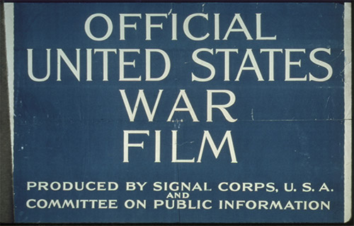 Official War Film - Bernays