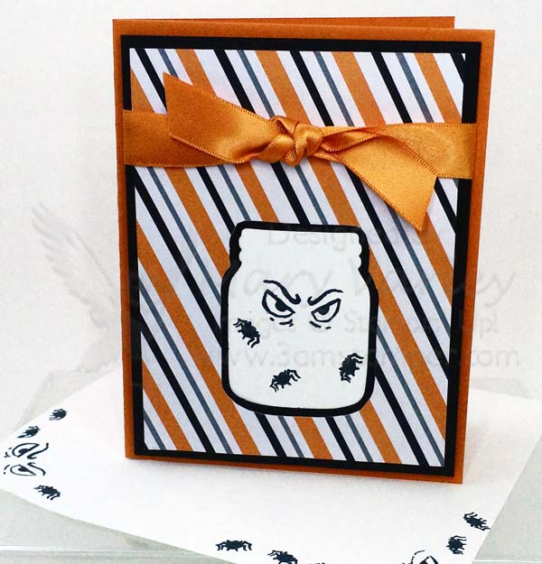 The Eyes Have It Spooky Halloween Card - Visit http://www.3amstamper.com