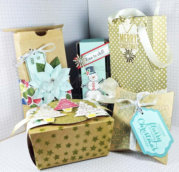 Holiday Gift Packaging Class