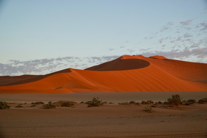 One of the beautiful dunes of Sossusvlei