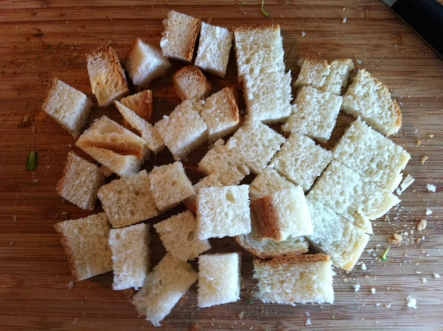 how to make homemade croutons easy