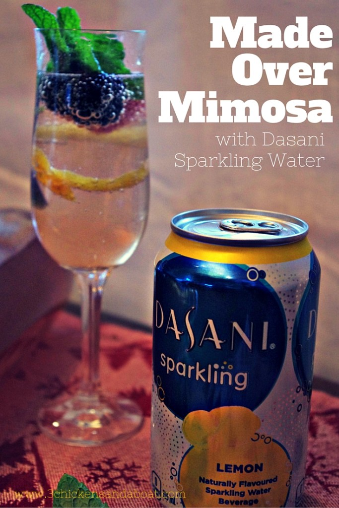 Made over mimosa with dasani sparkling water walmart for Sparkling water mixed drinks