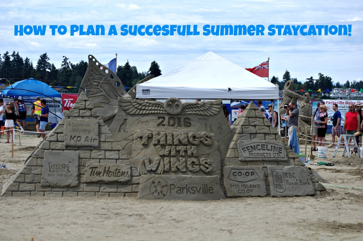How To Plan a Successful Staycation  #Canwin