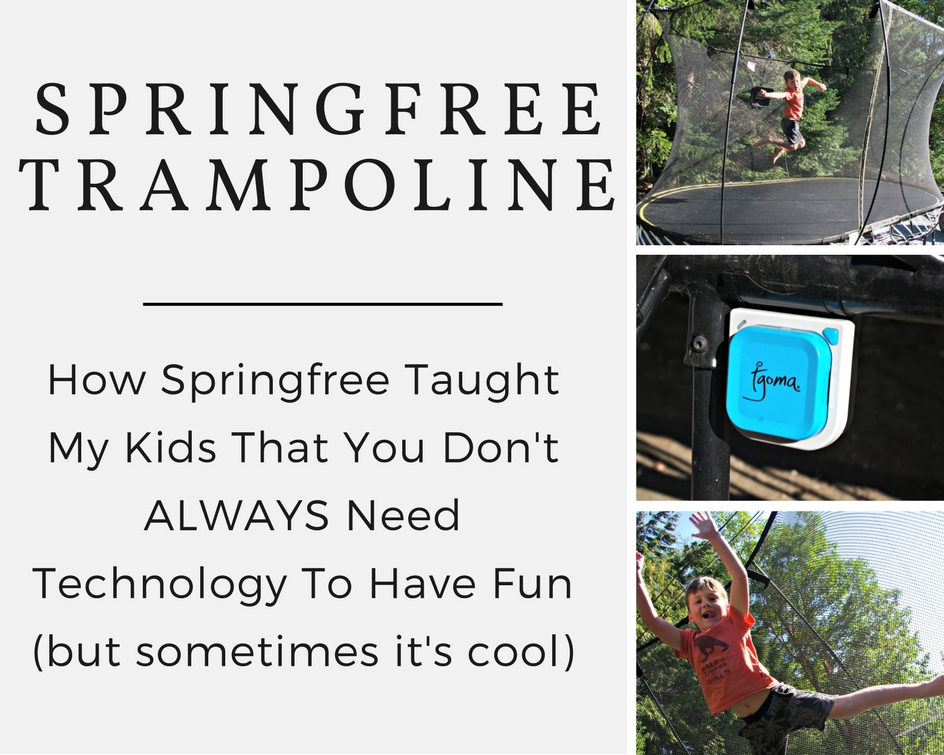 How Our tgoma Brought Our Jumping To A Whole New Level  @springfree