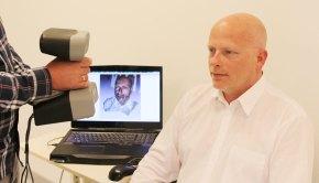 3d-gezichtsscan