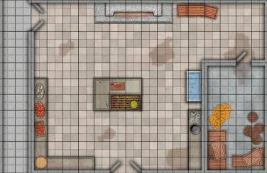 Battle Kitchen Map