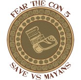 Fear the Con 5 Shirt Design