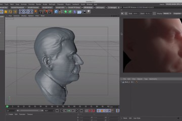 C4D-Arnold-Render-Tutorial-Start-to-Set-up-Skin-Shader