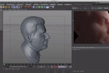 C4D-Arnold-Render-Tutorial-Start-to-Set-up-Skin-Shader
