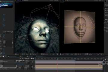 Displacement Map C4D - After Effects con FreeForm Pro