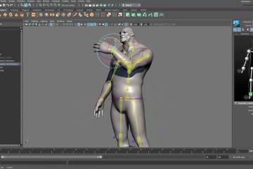 Maya 2017 Tutorial -  Rigging and Skinning a Character