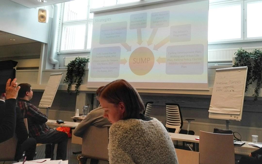 Media Marketing S.R.L.  a reprezentat Municipiul Tîrgu Mureș  în cadrul programului de formare  SUMPs-Up Innovation Pilot Pool (IPP) – Program formare experți privind Planurile de Mobilitate Urbane de Dezvoltare
