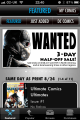 Comixology home screen 3.0