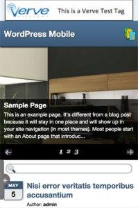 make WordPress website mobile friendly