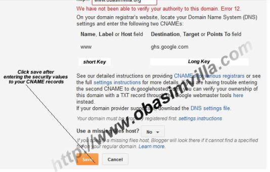 custom domain setup guide