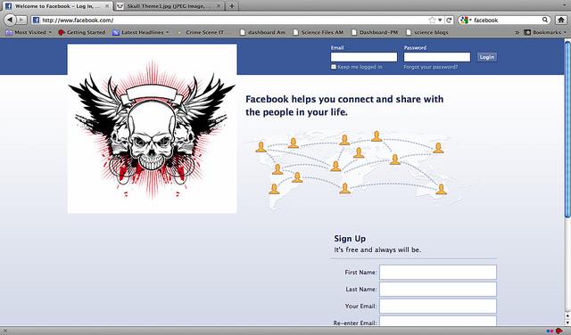 social media accounts passwords stolen