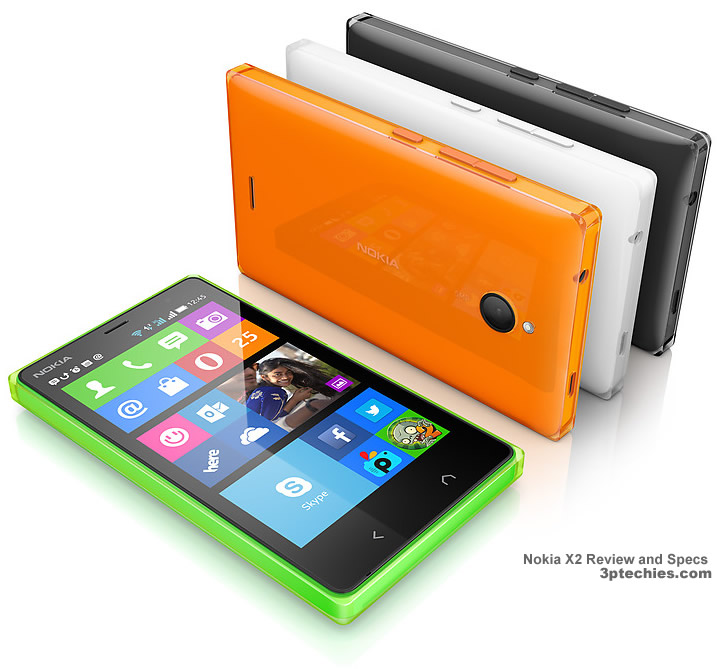 Nokia X2 android Dual-SIM phone review