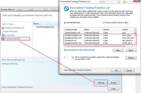 Come bloccare gli annunci pubblicitari su Internet Explorer 9 senza installare nessun Add-on