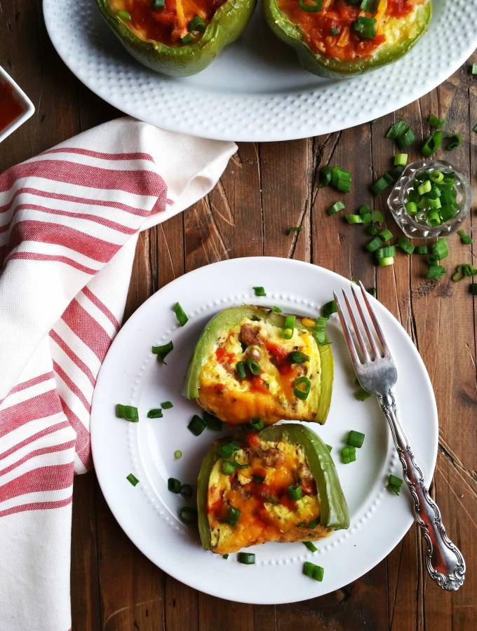 Pepper-Bowl-Egg-Casserole
