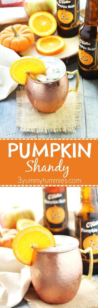Pumpkin Shandy | 3 Yummy Tummies