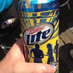 Progressive Field - Miller Lite Can