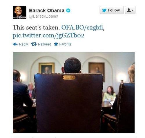 chair Obama: 4 lecciones de Marketing Online