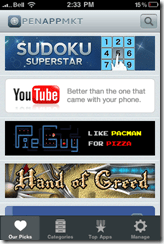 Featured Apps on OpenAppMkt for iPhone, iPod Touch, iPad