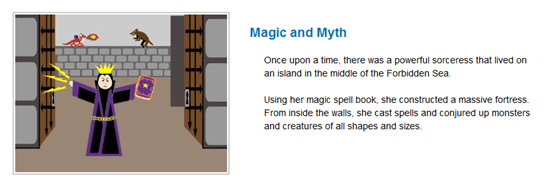 Magic and Myth Template | Storyjumper
