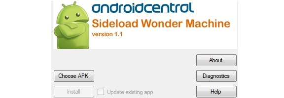 android sideload wonder machine