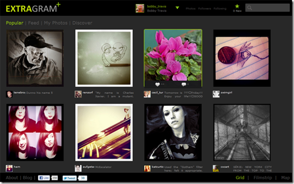 Extragram - Best Instagam Web App | 40Tech