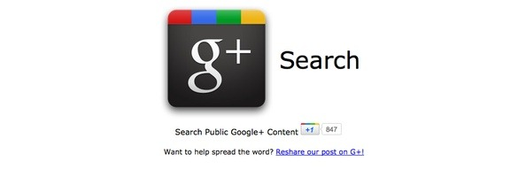 Google Plus Search