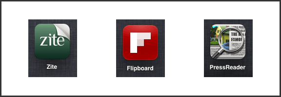 Awesome App Updates: Flipboard, Zite, PressReader (iOS) | 40Tech