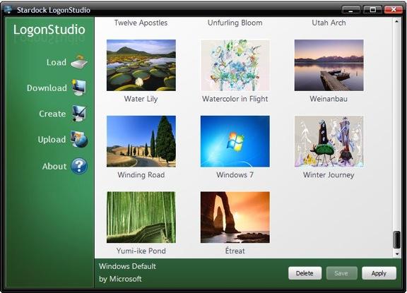 Logonstudio main screen