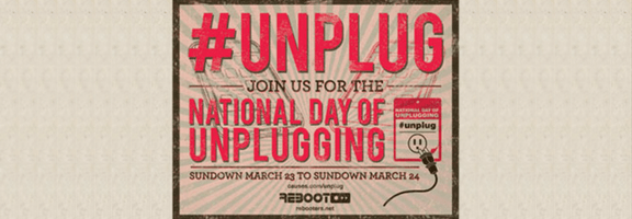 National Day of Unplugging Starts Friday Night -- You In or Out? | 40Tech