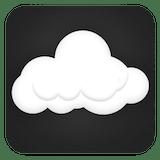 plain cloud icon