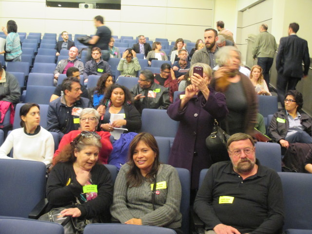 The Yes side: Mission community activists were well represented