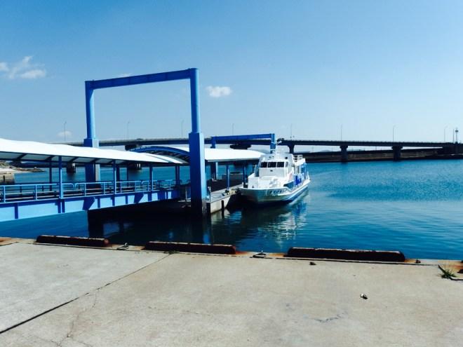 高速船 佐久島
