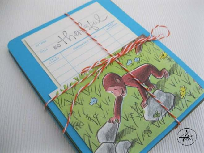 CUSTOM library card thank you notes by 4onemore.etsy.com